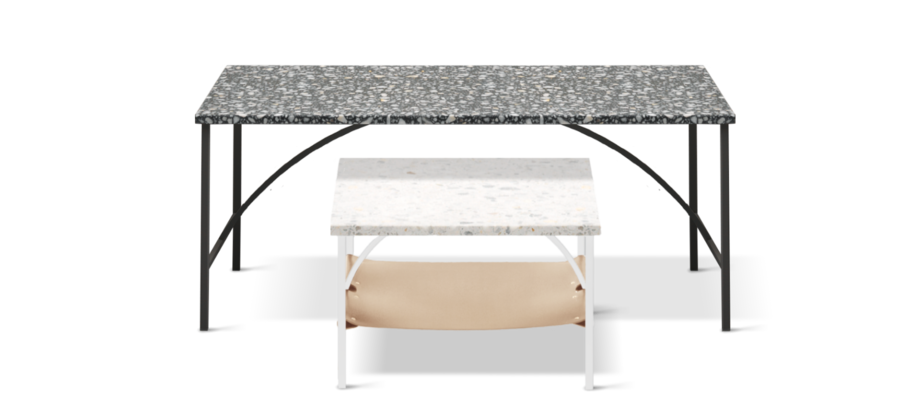 Snyggt soffbord från Note Design för Fogia.