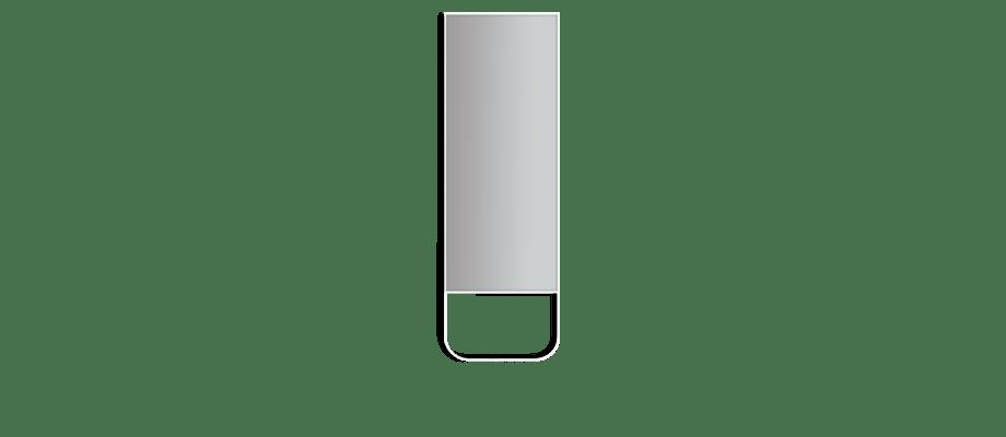 Asplund Tati Mirror Spegel i vit färg