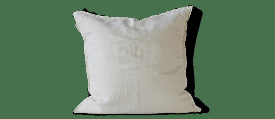 Tell Me More Cushion Cover Linen Kuddfodral Off White i linne
