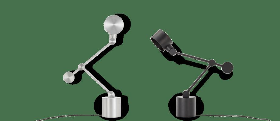 Tom Dixon Boom Task Light Bordslampa i aluminium och mattsvart