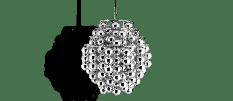 Verpan Ball Silver Pendel