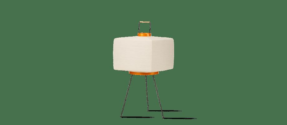 Vitra Akari 7A Bordslampa i washipapper, bambu och stål