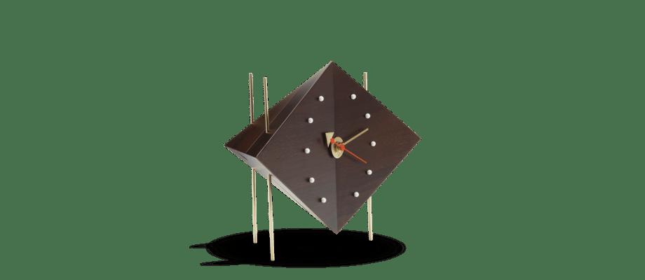 Vitra Diamond Clock Bordsklocka i valnöt