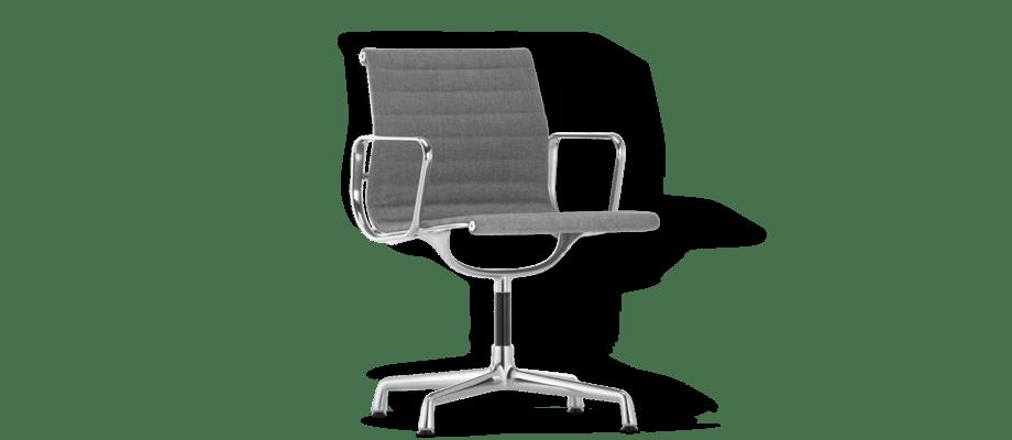 Vitra Charles & Ray Eames EA 103 Kontorsstol klädd i tyget Plano