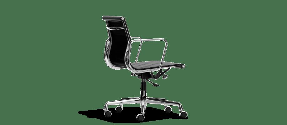 Vitras Aluminium Group innehåller kontorsstolen EA 117 av Charles & Ray Eames