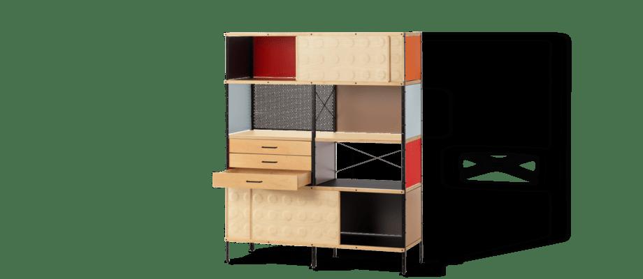 ESU Bookcase är en bokhylla med design av Charles & Ray Eames för Vitra