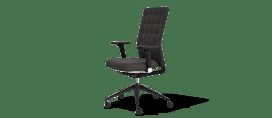 Vitras ID Trim i svart klädsel är en kontorsstol av Antonio Citterio