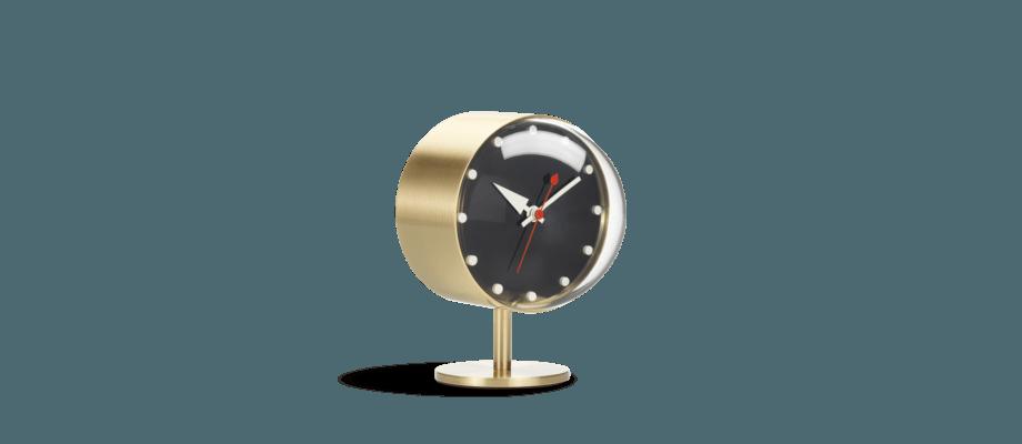 Vitra Night Clock Bordsklocka i mässing
