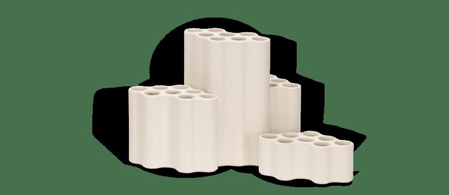 Vitra Nuage Céramique Vas i vit färg av Ronan & Erwan Bouroullec