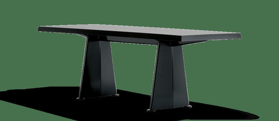 Vitra Trapèze Skrivbord i svart färg