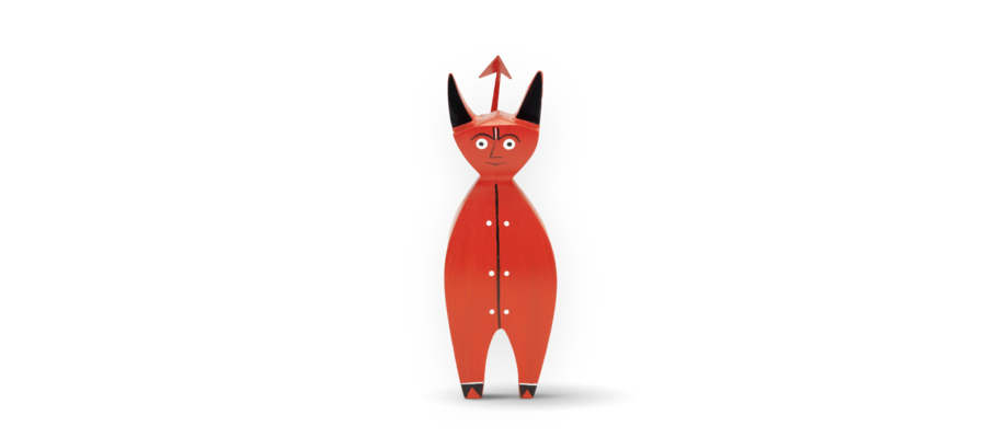 Little Devil från Vitra ur Alexander Girards berömda serie Wooden Dolls
